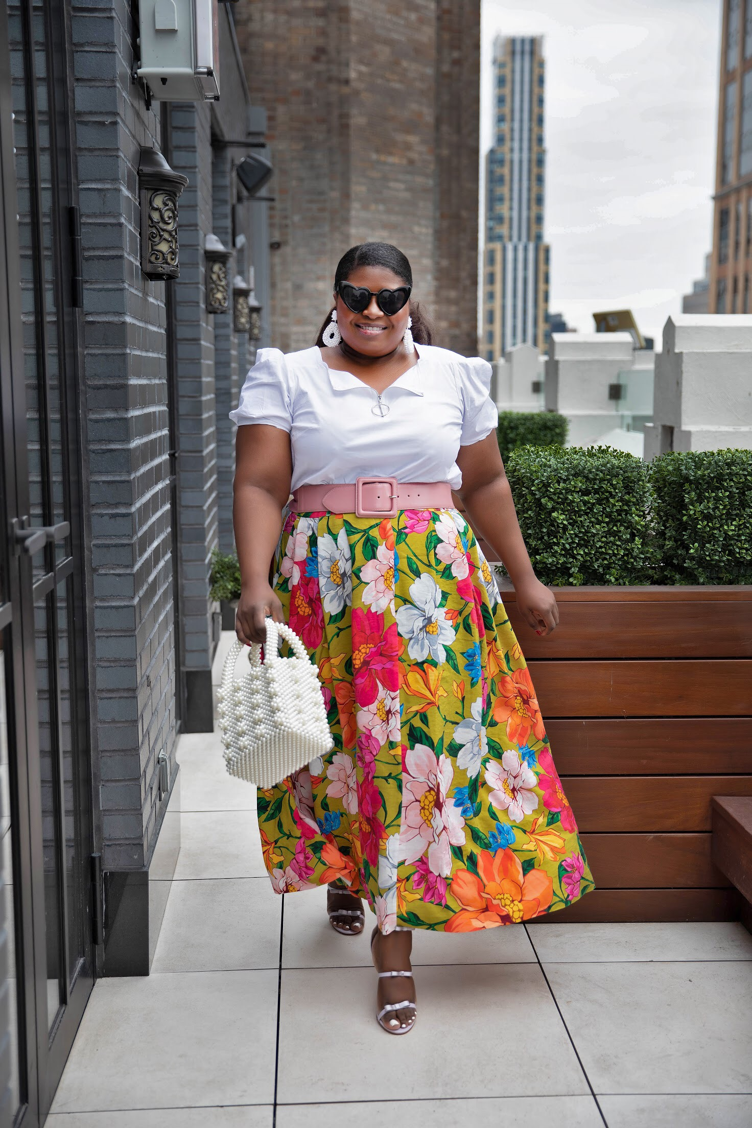 How to style Midi Skirt for spring